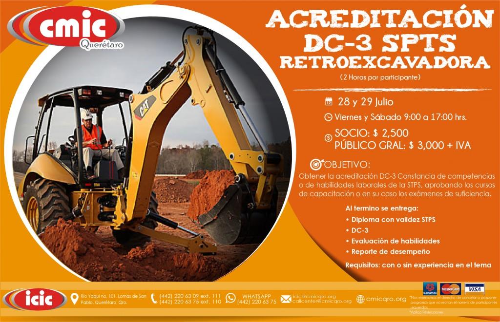 ACREDITACION RETROEXCAVADORA