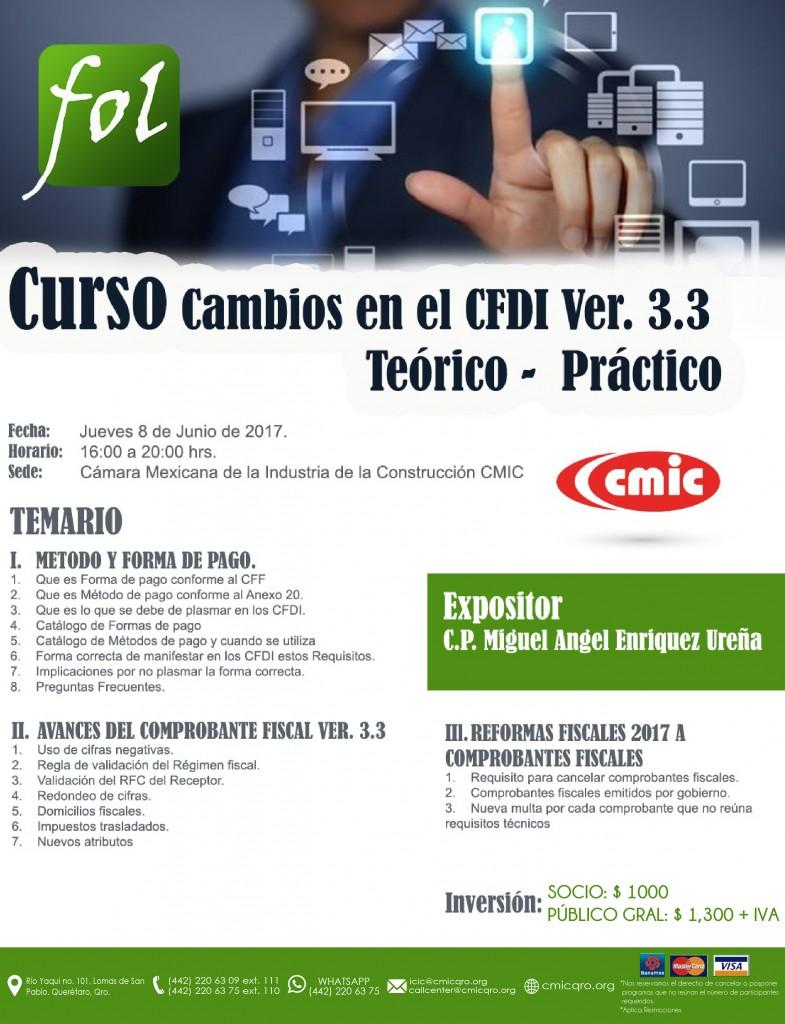 CAMBIOS EN EL CFDI